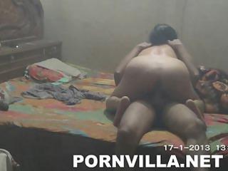 fucker copulates his indian woman uneasy