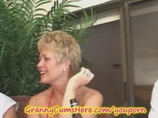 elderly has a xxx swingers gathering and bottom