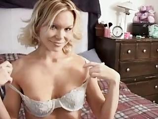 woman into bikini giving fellatios
