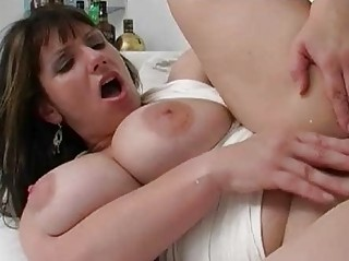 large boobed amp maiden drives great piece of meat