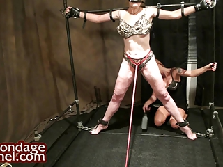 homosexual woman domination. amateur chick whips
