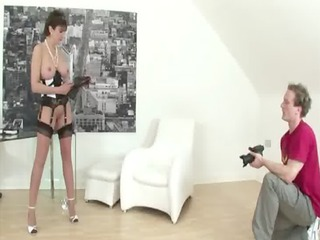 grown-up nylons fetish amp licking libido