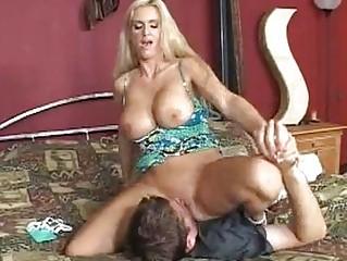 busty albino momma rhyse richardson slides a