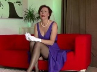 classy cougar lingerie homosexual woman fisting