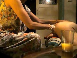 wife gives a prostate massage and ff to hubbys