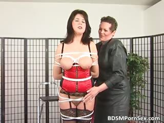bondage game where brunette desperate lady part6