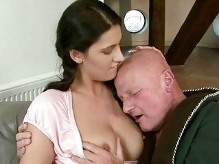 grandpa gangbanging with hot amateur