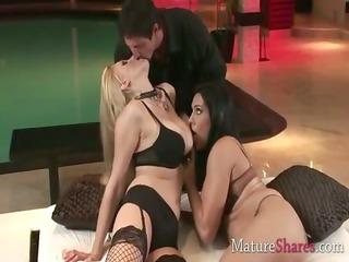 tasty older  sluts masturbating horny boy